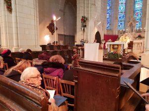 Chorale Saint Sylvain, Messe de l'Epiphanie 2019 à Levroux (FILM)