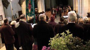 Fête de Saint Blaise à la Collégiale de Levroux le 2 Février 2019 avec la Chorale Saint Sylvain (AUDIO)