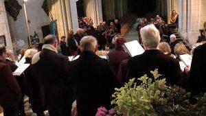 Fête de Saint Blaise le 2 Février 2019 à la Collégiale de Levroux ( extrait Chorale Saint Sylvain)  ( FILM)