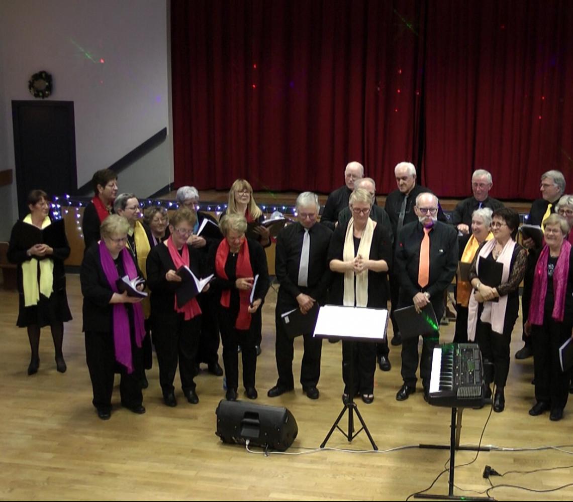 Chorale la Clé des Chants d'Ecueillé dirigée par Lidwine Blanchard
