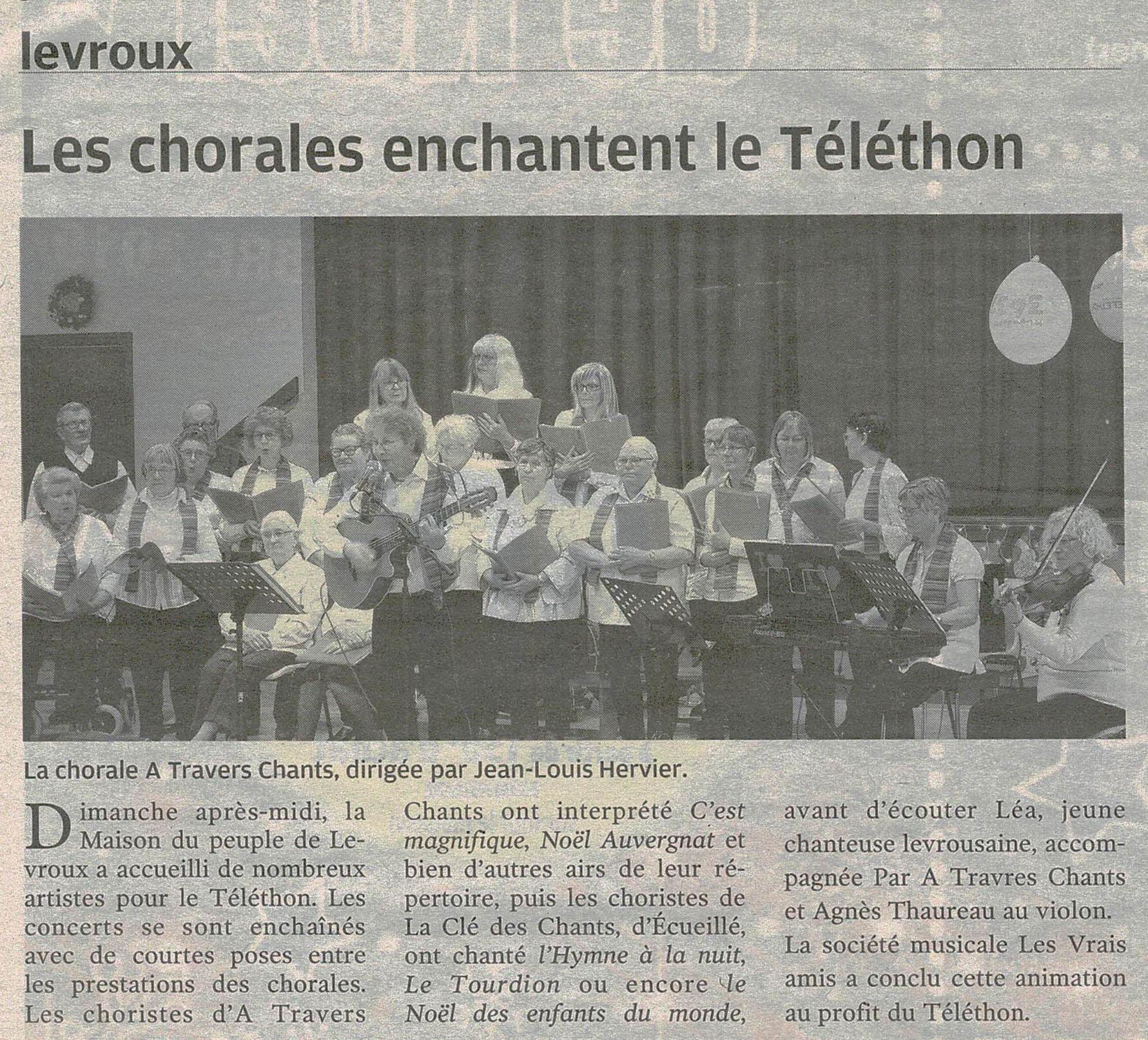 Téléthon Levroux N-R